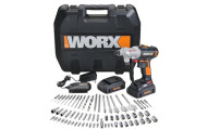 WORX 67 Pc Switchdriver Cordless Drill & Driver Set