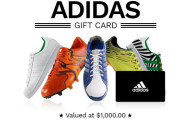 Win a $1,000 adidas Gift Card
