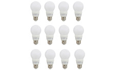 12 Pack Sylvania 40W White Frosted LED Light Bulb