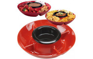 American Originals Retro Style Heated Appetizer Tray