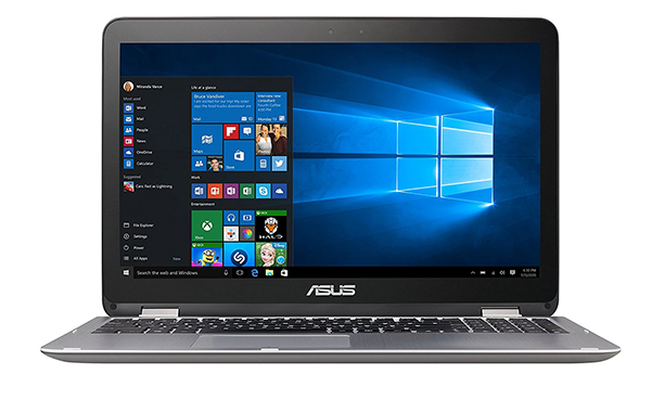 "Asus VivoBook Flip Convertible 15.6"" Touchscreen Laptop"