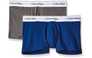Calvin Klein Men's Underwear 2 Pack Stretch Trunks