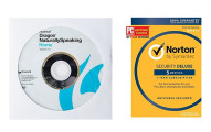 Dragon NaturallySpeaking Home and Norton Security Deluxe