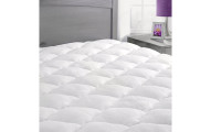 Rayon From Bamboo Mattress Pad with Fitted Skirt