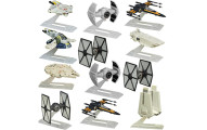Set Of 12 Star Wars Mini Model Ships