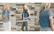 Women's Denim Vests