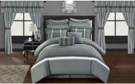 Chic Home Topaz Complete Bedroom-in-a-Bag Comforter Set