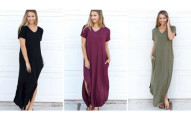 Relaxed Maxi Dress