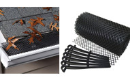 18-Foot Gutter Guard Leaf & Debris Mesh Filter