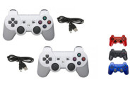 2-Pack Wireless Bluetooth Controllers for Sony PlayStation 3