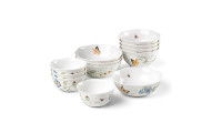 Lenox 880075 Butterfly Meadow 12-Piece Bowl Set