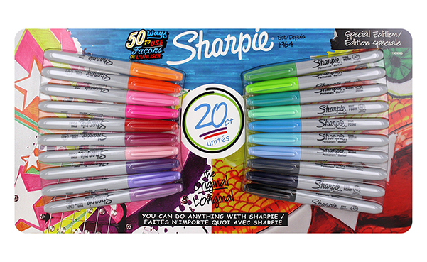 Pack of 20 Sharpie Permanent Markers