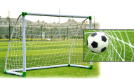 Soccer Goal with Durable PVC Frame