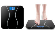 Tempered Glass Precision Digital Bathroom Scale