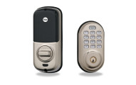 Yale Push-Button Electronic Deadbolt