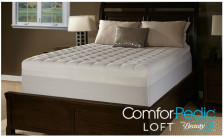 "ComforPedic Loft 4.5"" Quilted Memory Foam Mattress Topper by Beautyrest"