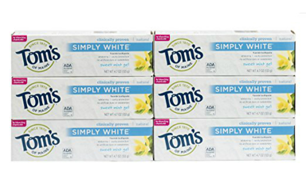 Tom's of Maine Toothpaste