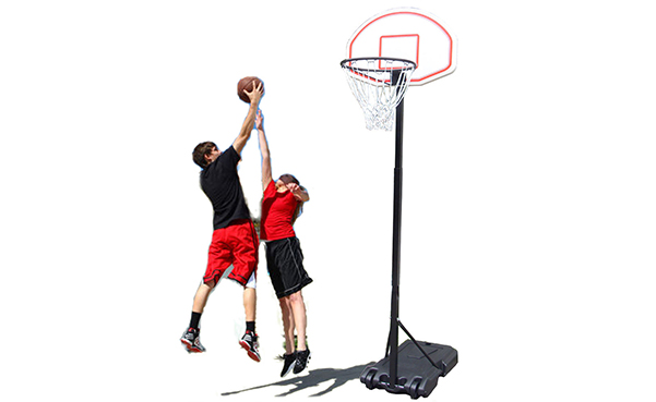 Adjustable Basketball Hoop System Stand
