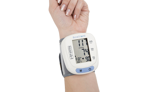 Bluestone Automatic LCD Blood Pressure and Pulse Monitor