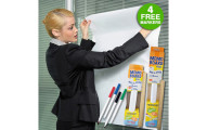 Contact Adhesive Dry Erase Memo Board Roll