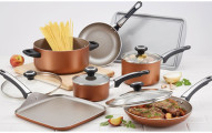 Farberware Copper Cookware Set