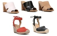 Franco Sarto Espadrille Wedge or Open-Toe Mules