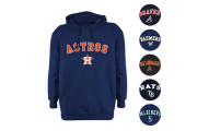MLB Stitches Fleece Pullover Hoodie