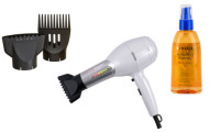 CHI Rocket Low-EMF Cosmopolitan Chrome Hair Dryer