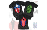 Superhero Costume Tees