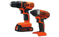 Black & Decker Drill Driver Impact Combo Kit
