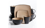 Gibson Soho Lounge 16-Piece Dinnerware Set