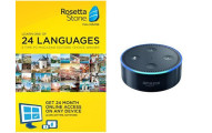 Rosetta Stone 24-month Subscription with Echo Dot