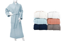 Superior Cotton Unisex Waffle Terry Robes