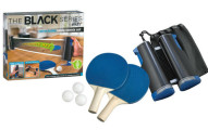 Black Series Portable Ping Pong Table Kit