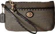 COACH Womens Exploded Rep Medium Wristlet