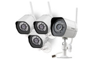4 Pack Zmodo Smart Wireless Security Camera System