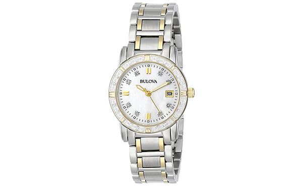 Bulova Diamonds Women's Two-Tone Watch