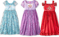 Disney Girls' Princess Fantasy Nightgowns