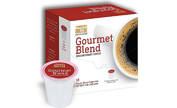 Dolche Gourmet Blend Premium Coffee K Cups