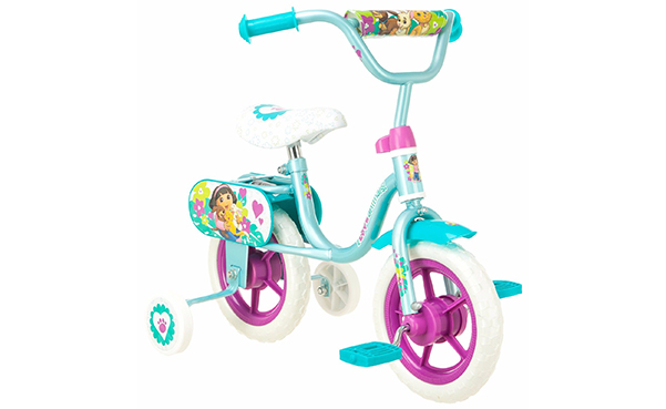 Dora Sidewalk Bike With Training Wheels