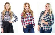 Flannel Button Up Shirts