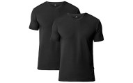 Lapasa Men's 2-PACK V Neck T Shirts