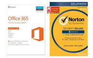 Microsoft Office 365 Home & Norton Security Deluxe