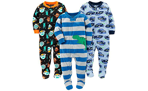 Simple Joys 3-Pack Boys Pajamas
