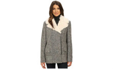 Kenneth Cole New York Novelty Wool Coat