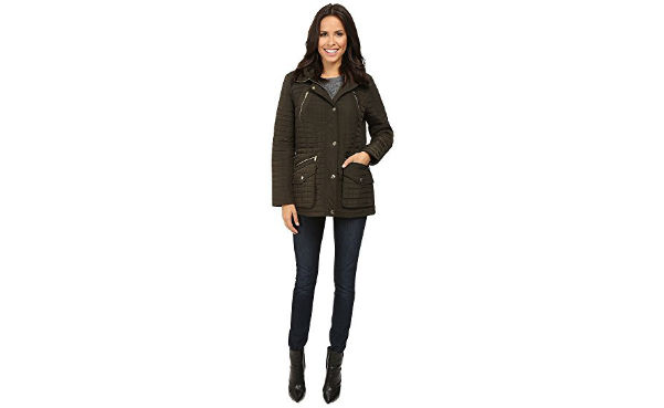 Michael Kors Box Quilted Jacket