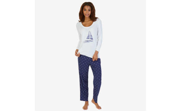 Nautica Womens Pajama Set