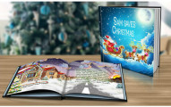 "Personalized ""Saving Christmas"" Storybook"