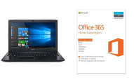 Acer Aspire E Notebook and MS Office 365