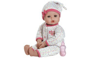 "Adora 13"" Baby Girl Washable Play Doll Gift Set"